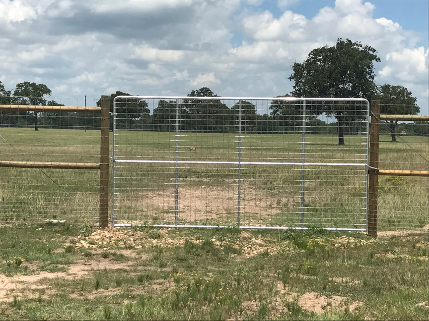 deer fencing gate
