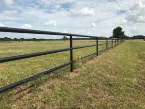 Pipe fencing ranch fences